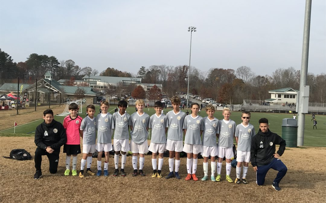Spartans 06B Grey Compete in Addidas Norcross Cup